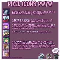 Pixel Icons Info by sulfurbunny