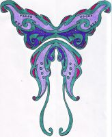 :contest entry: wing tattoo by SafireStarr