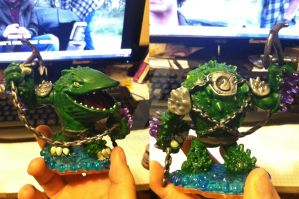 Skylanders: Custom Thump-o-dile by neilsugg