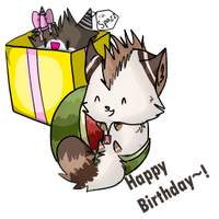 Spazzes Bday gift  by EastyBug