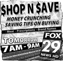 Shop n Save Newsprint by PatrickJoseph
