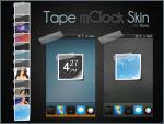 Tape mClock Skin by chrisbanks2