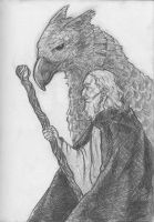 Daily Sketch Challenge - Hippogriff by crittercat