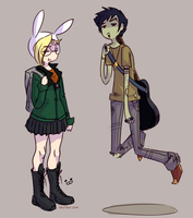 AT- Daria and Trent by Laur-