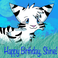 Happy Birthday Shine~ by LightStudioz