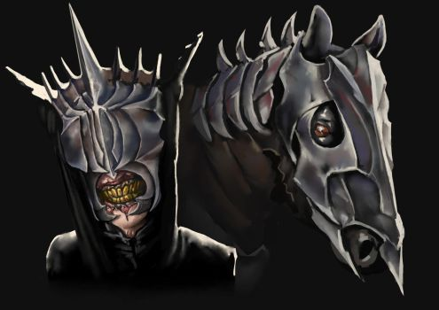 Studi: Mouth of Sauron by Prihlop