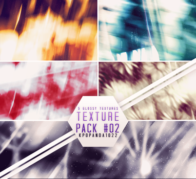 Texture Pack #02 - 5 Glossy Textures by Kpopanda1022