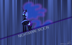Nighmare Moon title by SPltFYre
