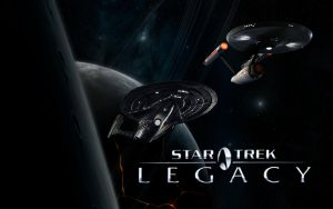 Star Trek Legacy by wallybescotty