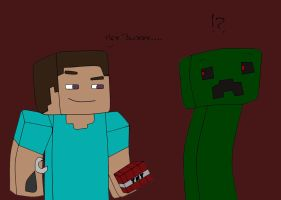 Minecraft Role Reversal Contest Entry ^^ by Maddimrw420