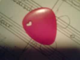 Home made plectrum by Roozke112