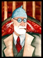 Sigmund Freud by gapinska