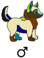 Breedable Couple Puppy by Da-Mushroom