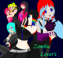 the girls of zombie lovers by sprabary
