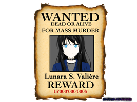 Wanted by ShadowMajoraDrowned