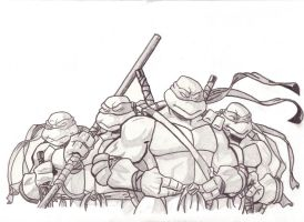 TMNT 1 by Artifact911