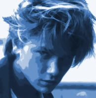 River Phoenix Paint By Number Art Kit by numberedart
