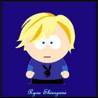 Ryou Shirogane - South Park by IchigosTwinChoco