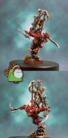 Skaven Warlord Queek Headtaker by HomeOfCadaver