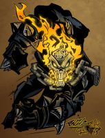 Ghost Rider by XNegativecreepX
