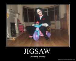 Jigsaw.... by That-Love-Voodoo