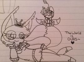 The World Is Ours~ by CreepyGamerGirl2002