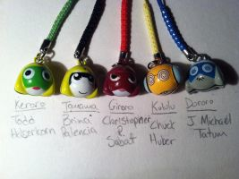 My Sgt Frog Bell Charms by TheRealTDAGeena