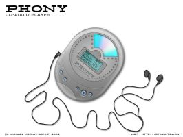 Phony CD Player by ice-hf