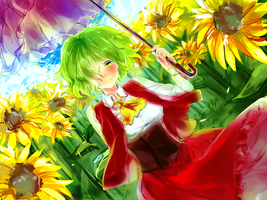 Sunflower's color by Rene-Elric