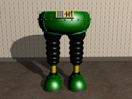 Return of the Techno Trousers by EUAN-THE-ECHIDHOG