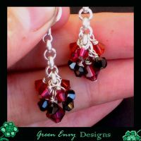 tiny crystal cascades by green-envy-designs