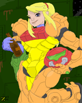 Samus Aran - Cooldown by professorhazard