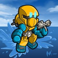 Commission - Seaspray by MattMoylan