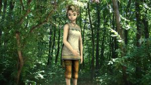 Ilia in the Woods by DarklordIIID
