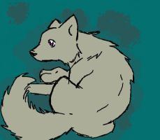iScribble Pup by wolfclawalchemist