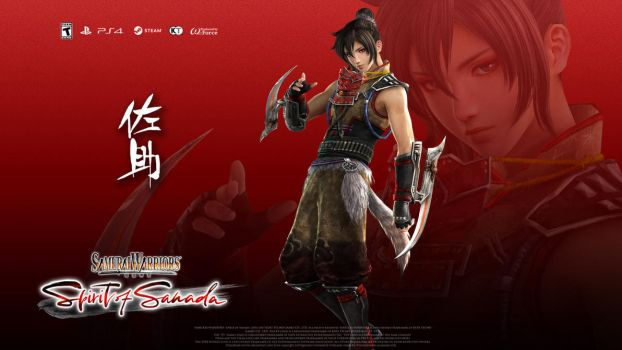 SW: Spirit of Sanada Wallpaper - Sasuke by Koei-Warrior