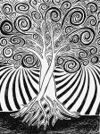 Spiral Tree by daevilmagiciano
