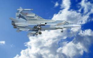 Airplane 3D by IgoR0899