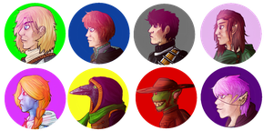 Pathfinder icons by AkariMMS