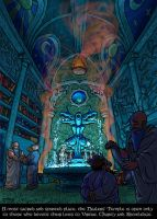 The Healers' temple by SebToure