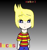 Lucas with some weird background by Lucaslover89