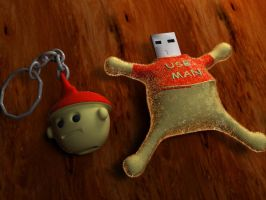 USB MAN by AbhishekKr