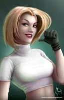 Tribute to Scott Campbell: Abbey Chase by Mauricio-Morali