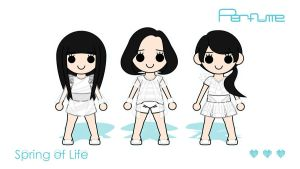Perfume (Standby) - SoL Wallpaper SP 16:9 by XCurarpiktX