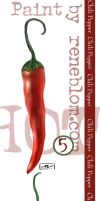 Chili pepper by nenne