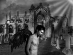 Fallen Angel by mermes
