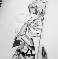 Levi | Attack on Titan by eternalxgyu