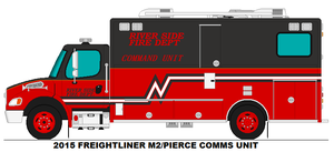 River Side Fire Dept. Command unit by MisterPSYCHOPATH3001