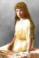 Grand Duchess Anastasia 1914 by Hattie-James