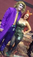 Mr. J and Poison Ivy by RaindropCosplay